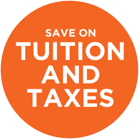 Save on tuition and taxes